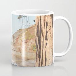South Carlsbad Beach Scene Coffee Mug