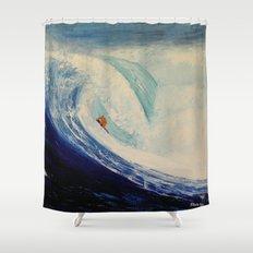 OXYGENE Shower Curtain