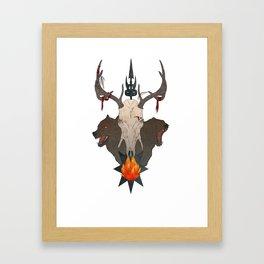 HIRCINE Framed Art Print