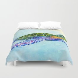 Southern Passage Duvet Cover