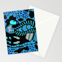 Authentic Aboriginal Art - Kangaroo Dreaming Stationery Cards