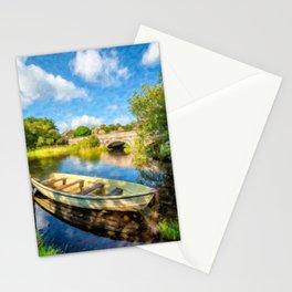Padarn Lake Boats Stationery Cards