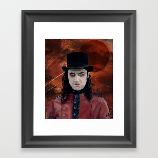 Fernando Moonspell Framed Art Print
