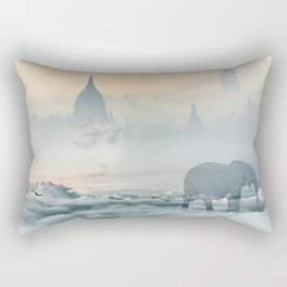 Walking through your dreams Rectangular Pillow