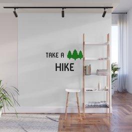 Hikers Take a Hike Backpacker Camper Wall Mural
