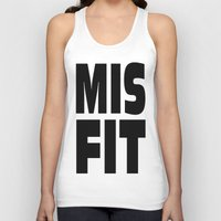 misfits Tank Tops featuring misfits rock. by quality products