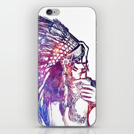 Space Indian iPhone Skin