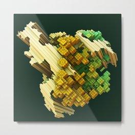 stratocaster dream fractal Metal Print