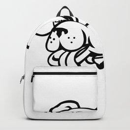 Labrador Retriever Dog Wearing Cape Mascot Backpack