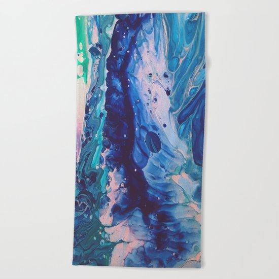 Aquatic Meditation Beach Towel