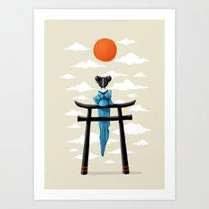 Torii Art Print
