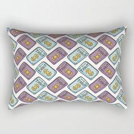Mystical Seamless Vector Pattern of Set of Tarot Cards Rectangular Pillow