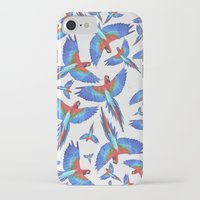 parrot iPhone & iPod Cases featuring Parrot. by Eleaxart