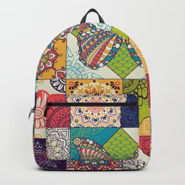 Butterfly and Mandala Backpack