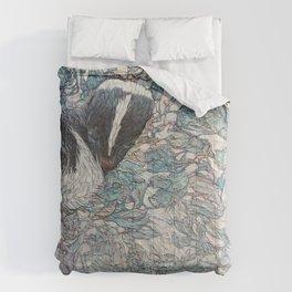 Winter Flower Comforters