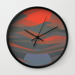 Active Passive Wall Clock