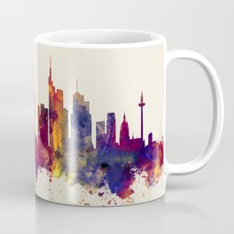 Frankfurt Germany Skyline Coffee Mug