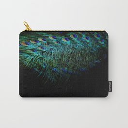 Peacock Details Carry-All Pouch