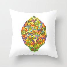 Lemon (Citron) Throw Pillow