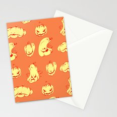 Crazy Pumpkin Party Stationery Cards