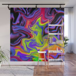 Colour hallucination Wall Mural