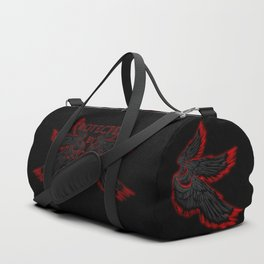 Protected by Lucifer Dark Duffle Bag