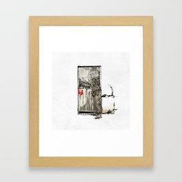 Past/Present/Future Framed Art Print