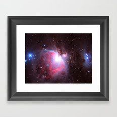 Great Nebula in Orion Framed Art Print