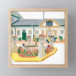 AFTERNOON TEA IN SURREY Framed Mini Art Print