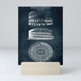 Roman Coliseum Mini Art Print