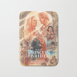 Barrett Chapman, The Princess Bride Poster, Adventure, Print  Bath Mat