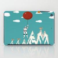 trooper iPad Cases featuring cloud trooper by bri.buckley