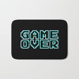 GAME OVER (blue) Bath Mat