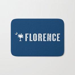 Florence, South Carolina Bath Mat