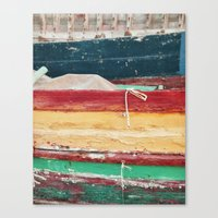 boats Canvas Prints featuring Boats by stephmel