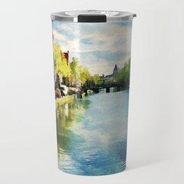 Amsterdam Waterways Travel Mug