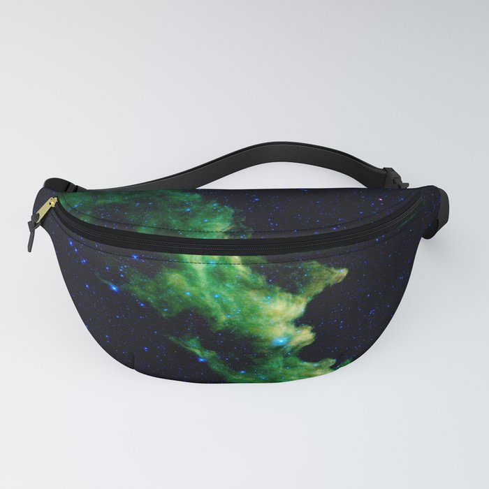 Galaxy: Green Witch's Head Nebula Fanny Pack