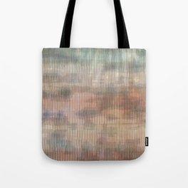 Colored landscape wicker Tote Bag