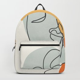 Abstract Faces 30 Backpack