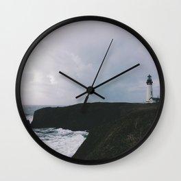 Yaquina Lighthouse Wall Clock