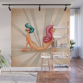 Attached Wall Mural