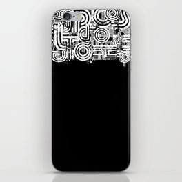 Disorganized Speech #3 iPhone Skin