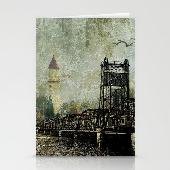 Beyond the Bridge Stationery Cards