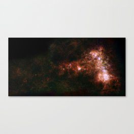 Small Magellanic Cloud, infared Canvas Print