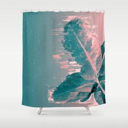 Banana Leaf Went Way Too Fast! Shower Curtain