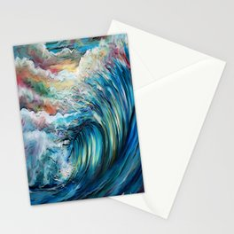 The Rainbow Wave Stationery Cards