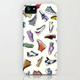 sneakers addiction iPhone Case