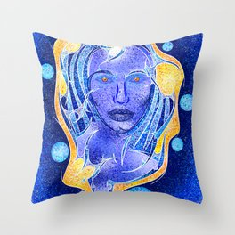 Angeonilium V4 - frozen beauty Throw Pillow