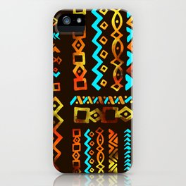 Bold Ethnic pattern n.5 iPhone Case