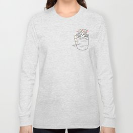 Pocket Possum Long Sleeve T-shirt